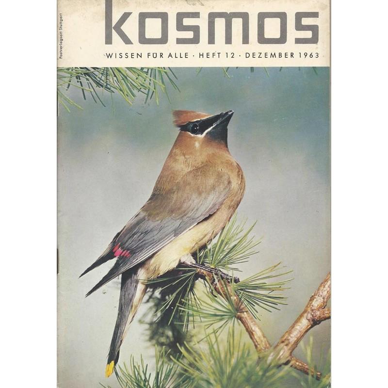 KOSMOS Heft 12 Dezember 1963 - Seidenschwanz