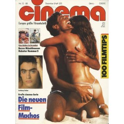 CINEMA 12/88 Dezember 1988 - Anthony Delon
