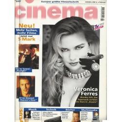 CINEMA 2/97 Februar 1997 - Veronica Ferres