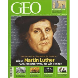 Geo Nr. 11 / November 2007 - Martin Luther