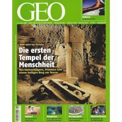 Geo Nr. 1 / Januar 2008 - Die ersten Tempel der Menschheit