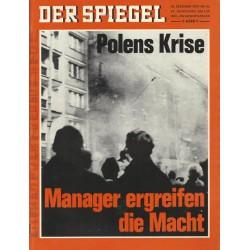 Der Spiegel Nr.53 / 28 Dezember 1970 - Polens Krise