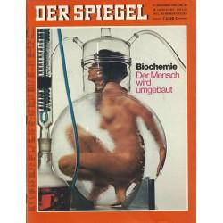 Der Spiegel Nr.52 / 21 Dezember 1970 - Der Mensch wird umgebaut