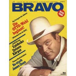 BRAVO Nr.2 / 6 Januar 1969 - Hoss (Dan Blocker)