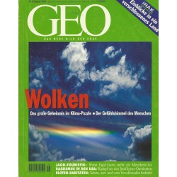 Geo Nr. 8 / August 1996 - Wolken