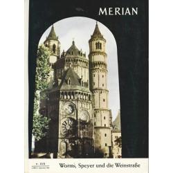 MERIAN Worms, Speyer und die Weinstraße 9/XVII September 1964