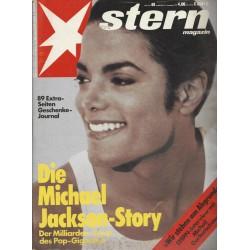 stern Heft Nr.48 / 21 November 1991 - Die Michael Jackson Story