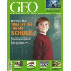Geo Nr. 5 / Mai 2008 - Was ist die Ideale Schule?