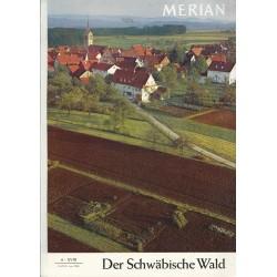 MERIAN Der Schwäbische Wald 6/XVIII Juni 1965