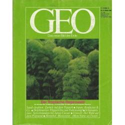 Geo Nr. 10 / Oktober 1985 - Der Tropische Regenwald