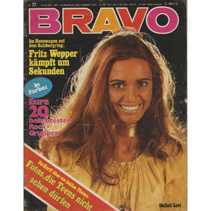 BRAVO Nr.22 / 24 Mai 1972 - Daliah Lavi