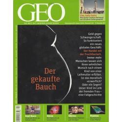 Geo Nr. 12 / Dezember 2011 - Der gekaufte Bauch