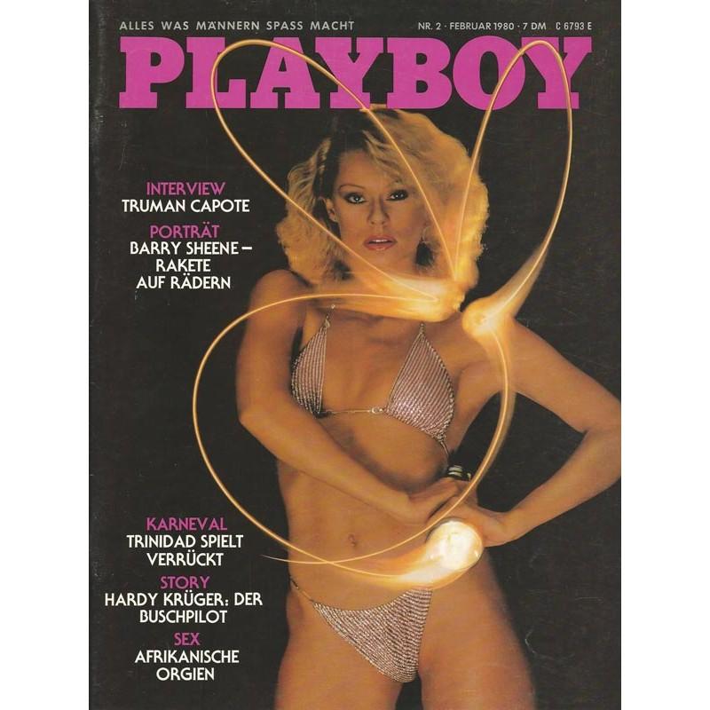Playboy Nr.2 / Februar 1980 - Bea Fiedler