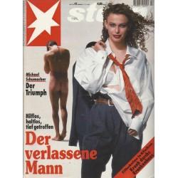stern Heft Nr.47 / 17 November 1994 - Der verlassene Mann