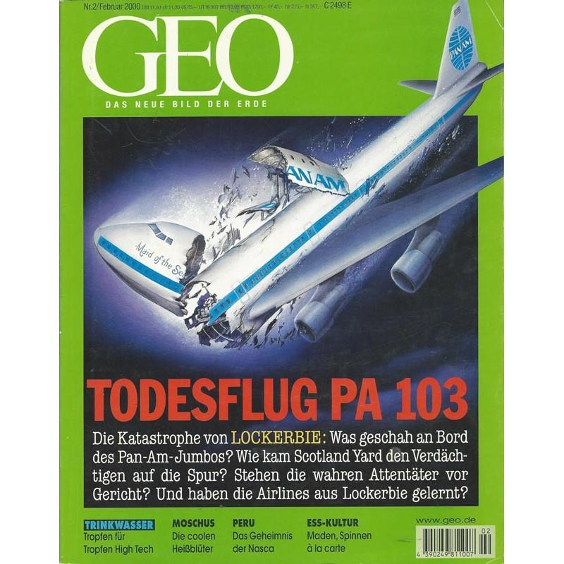 Geo Nr. 2 / Februar 2000 - Todesflug PA 103