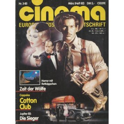 CINEMA 3/85 März 1985 - Coppolas Cotton Club