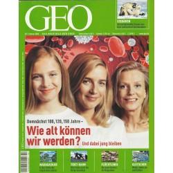 Geo Nr. 2 / Februar 2006 - Wie alt können wir werden?