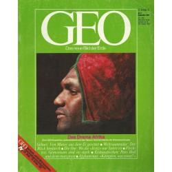 Geo Nr. 9 / September 1985 - Das Drama Afrika