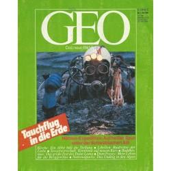 Geo Nr. 5 / Mai 1986 - Tauchflug in die Erde