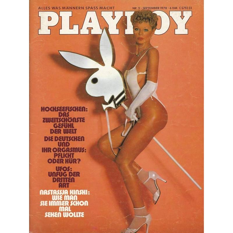 Playboy Nr.9 / September 1978 - Playmate Christiane Rittner