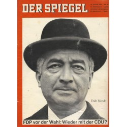 Der Spiegel Nr.35/ 25 August 1965 - Erich Mende