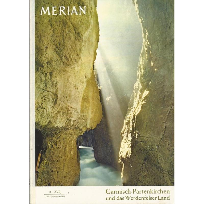 MERIAN Garmisch-Partenkirchen 11/XVII November 1964