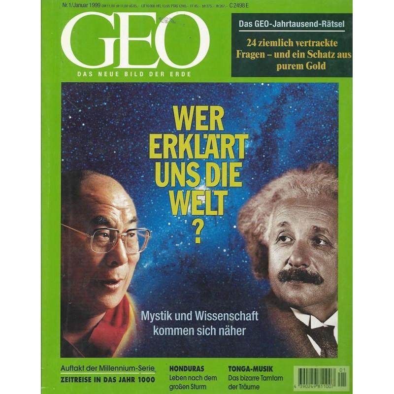 Geo Nr. 1 / Januar 1999 - Wer erklärt uns die Welt?