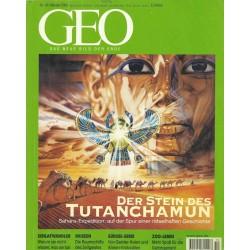 Geo Nr. 10 / Oktober 2000 - Der Stein des Tutanchamun