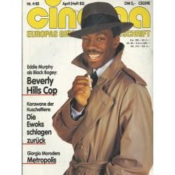 CINEMA 4/85 April 1985 - Beverly Hills Cop