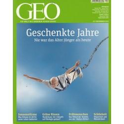 Geo Nr. 12 / Dezember 2012 - Geschenkte Jahre