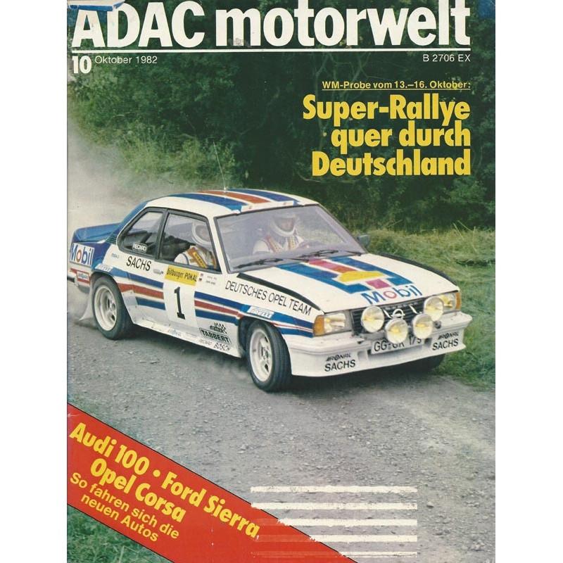 ADAC Motorwelt Heft.10 / Oktober 1982 - Super Ralley ...