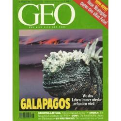Geo Nr. 8 / August 1995 - Galapagos