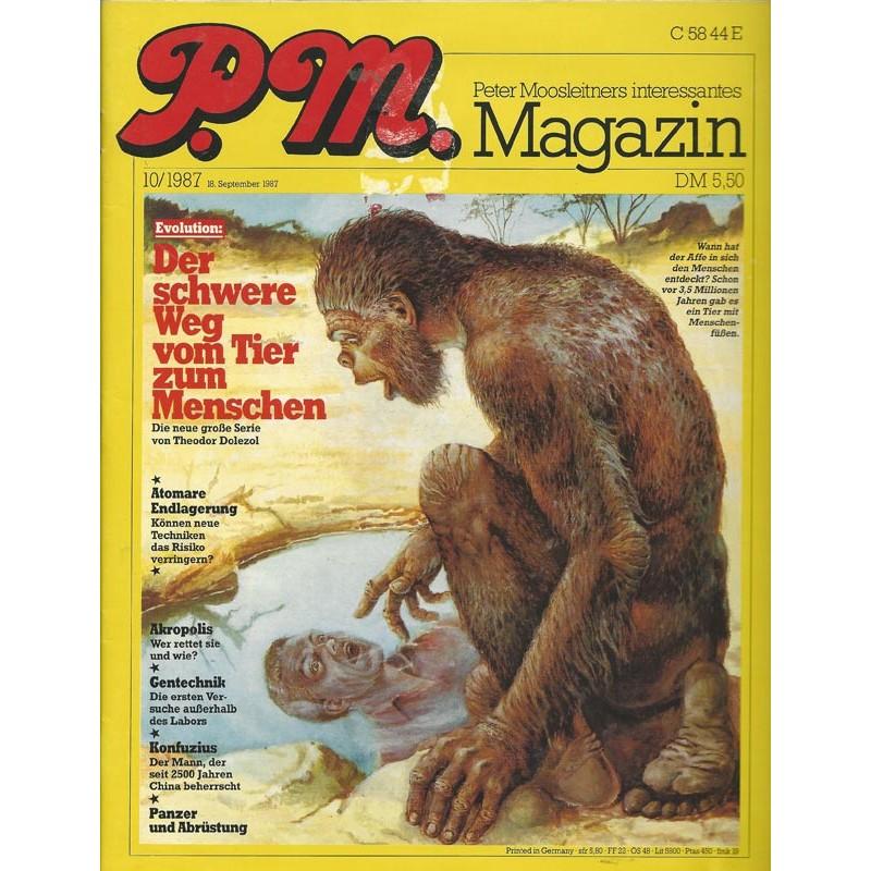P.M. Ausgabe Oktober 10/1987 - Evolution