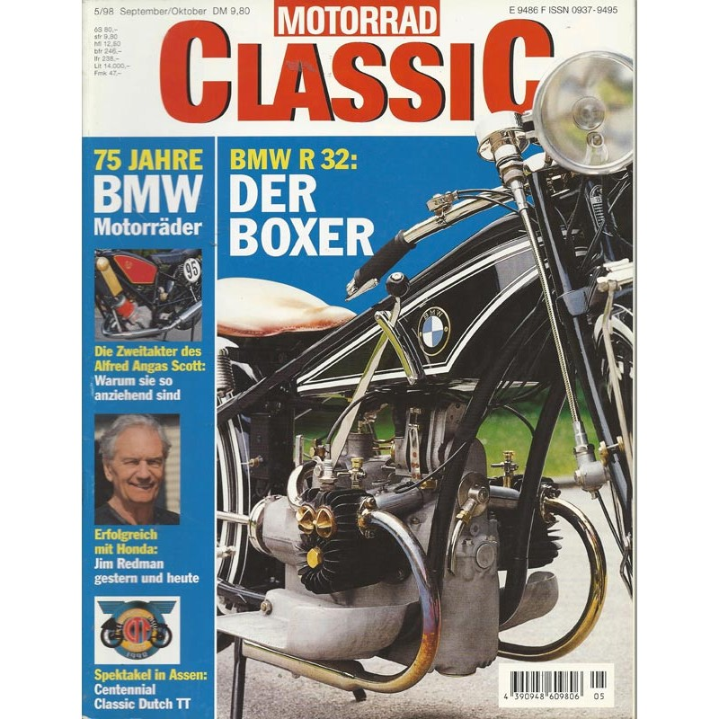 Motorrad Classic 5/98 - Sep/Okt 1998 - BMW R32 Der Boxer