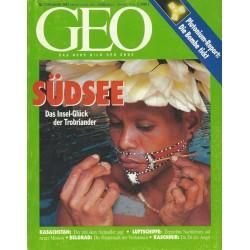 Geo Nr. 11 / November 1993 - Südsee
