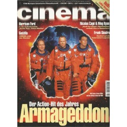 CINEMA 7/98 Juli 1998 - Armageddon