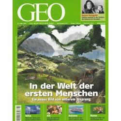 Geo Nr. 3 / März 2010 - In der Welt der ersten Menschen