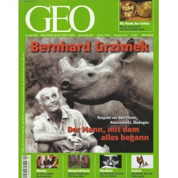 Geo Nr. 4 / April 2008 - Bernhard Grzimek