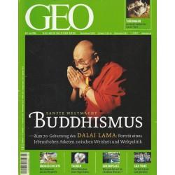 Geo Nr. 7 / Juli 2005 - Buddhismus