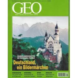 Geo Nr. 9 / September 1998 - Deutschland, ein Bildermärchen