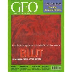 Geo Nr. 11 / November 1997 - Blut