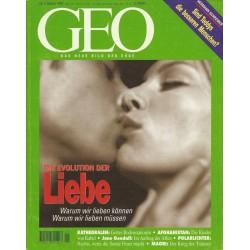 Geo Nr. 1 / Januar 1997 - Die Evolution der Liebe