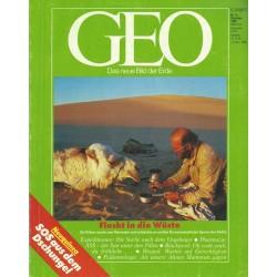 Geo Nr. 12 / Dezember 1990 - Flucht in die Wüste