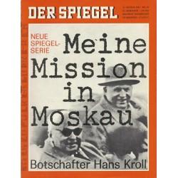 Der Spiegel Nr.34 / 14 August 1967 - Meine Mission in Moskau