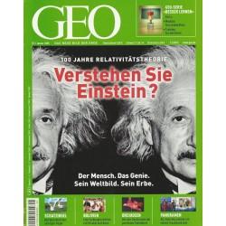 Geo Nr. 1 / Januar 2005 - Verstehen Sie Einstein?