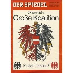 Der Spiegel Nr.36 / 1 September 1965 - Große Koalition