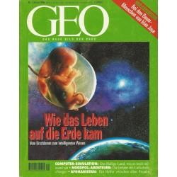 Geo Nr. 1 / Januar 1996 - Wie das Leben auf die Erde kam