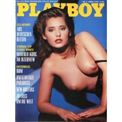 Playboy Nr.3 / März 1990 - Andrea Racz