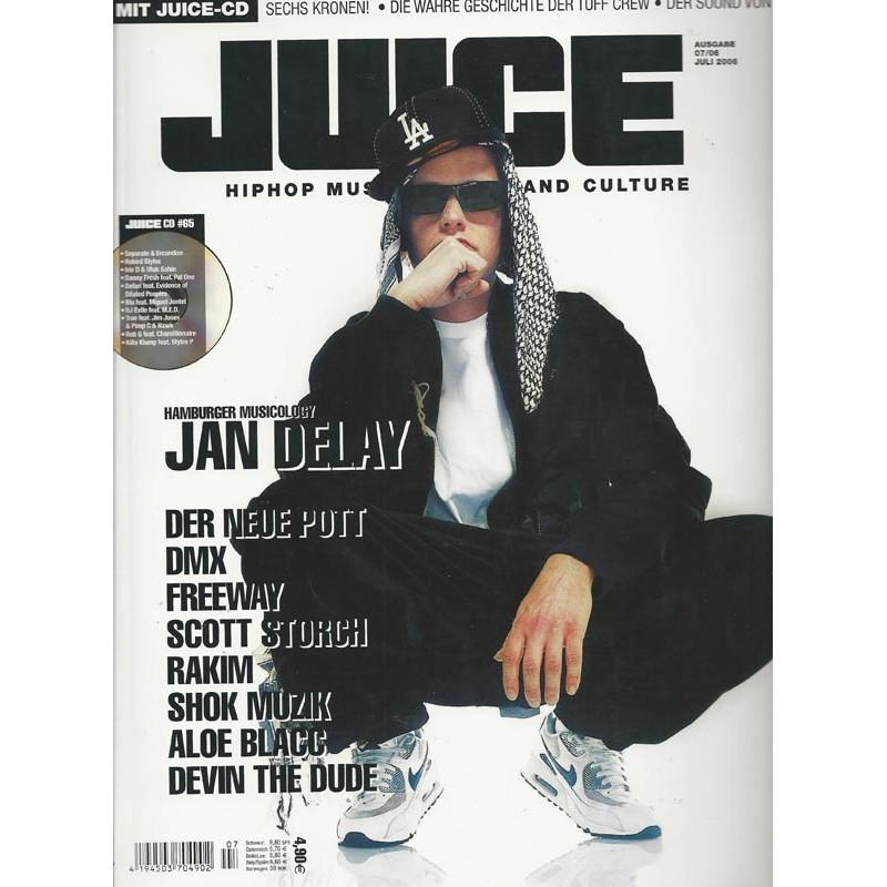 JUICE Nr.87 Juli / 2006 & CD 65 - Jan Delay