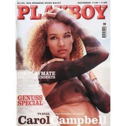 Playboy Nr.11 / November 1999 - Carol Campbell